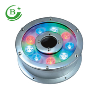 Led underwater fountain light underwater led light rgb LED decorative lights for pool 12W 24V