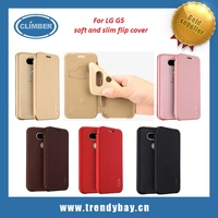 For LG G5 case Lenuo soft slim leather flip cover