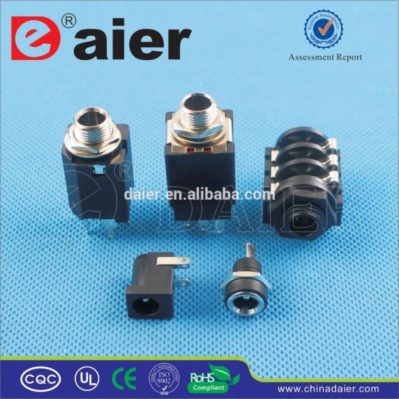 Daier 2.5mm headphone jack plug