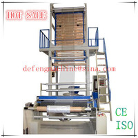 LDPE/HDPE Polyethylene Plastic Film Blowing Machine Price
