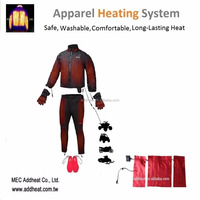 New Smart 12v Apparel Battery Powered Heating Element for Motorcycle Jacket and Vest
