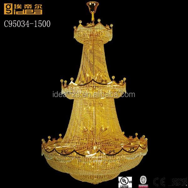 hotel led chandelier crystal big earring chandelier large pendant chandelier