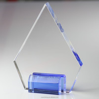 AAA YIWU new product clear low price blank glass crystal awards plaque