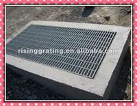 steel bar flat welding with twist square bar for steel gratings