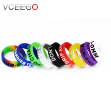 Electronic cigarette accessories new silicon vape band, what is the best e cigarette