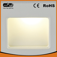 Jing Ying Lighting 2015 hot sales up and down solar wall light with CE ROHS certificate