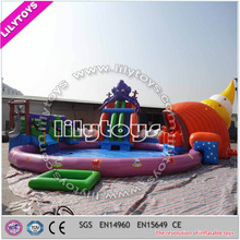 Underwater world themewater park projects,water amusement park,inflatable water park