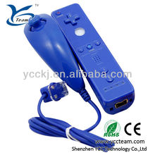 Blue/black/white/red/pink gamepad for wii remote and nunchuk