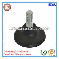 Adjustable nylon+iron Chair Glides/ furniture adjustable glide chair self leveling feet made in China