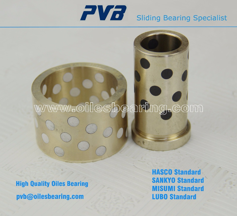 oilless copper alloy guide bearing, water lubricated bronze bushing, marine engine main bearing