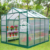 DIY Greenhouse For Sale Traditional Series 8'x8' Aluminum/Polycarbonate Hobby Greenhouse (GM31034-G)
