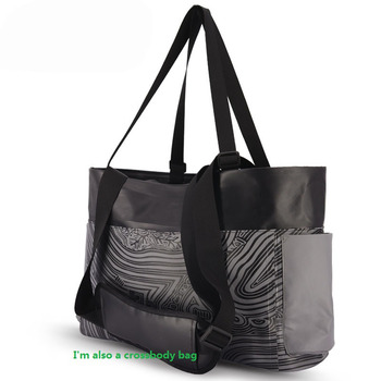 Waterproof pvc beach tote bag