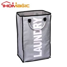 Fashion innovations factory supply deluxe pop-up laundry hamper (black)