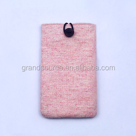 Latest Women Woolen phone pouch for iphone6s/7 plus