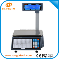 LCD LED Fruit Vegetable Weighing Electronic