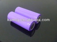 Cylindrical li-ion battery 3.7v 1600mah//1.5v li-ion rechargeable batteries
