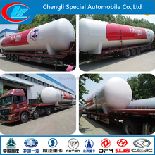 China 40m3 50m3 60m3 80m3 100m3 LPG Gas tank filling station LPG refilling plant LPG GAS Storage station Propane filling tank