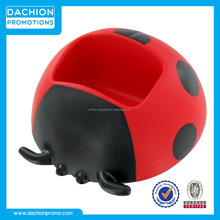 Promotional Lady Bug Cell Phone Holder Stress Toy/Lady Bug Cell Phone Holder Stress Ball/Lady Bug Cell Phone Holder Reliever