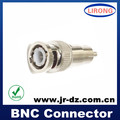 JR cctv system bnc male to rca male adapter