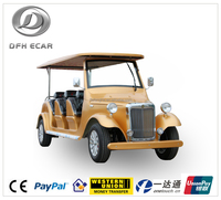 factory electric tourism car CE approved