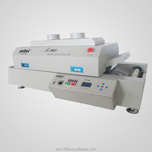 T960 IR hot air reflow oven,Infrared reflow oven,small wave soldering machine,China,taian,puhui