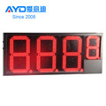 Hidly 12 inch Red Electronic LED Gas Price Sign