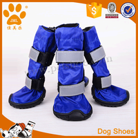 Rainy day fabric waterproof dog boots
