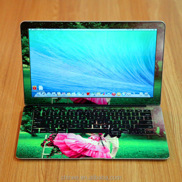 Custom keyboard skin decorative laptop sticker notebook cover machine