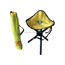 adjustable legs folding kids portable fishing chair with logo