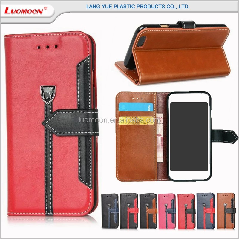 gentleman leather mobile phone case cover for iphone 4 5 s c se