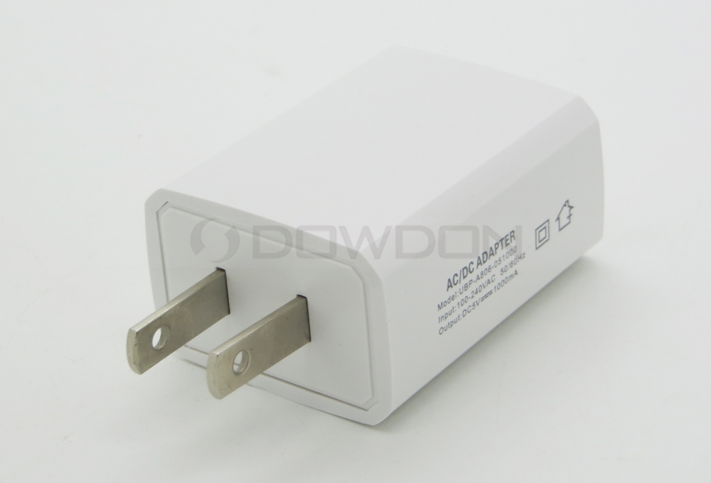 USB Wall Charger 5V/1A Universal Portable Travel Adapter 1.0A Output for Mobile Phones