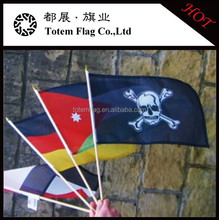 Public Gatherings Swing Flag Hand Waving Flag Mini Handheld Flag