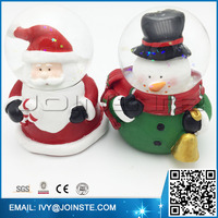 2015 new design Christmas snow globe