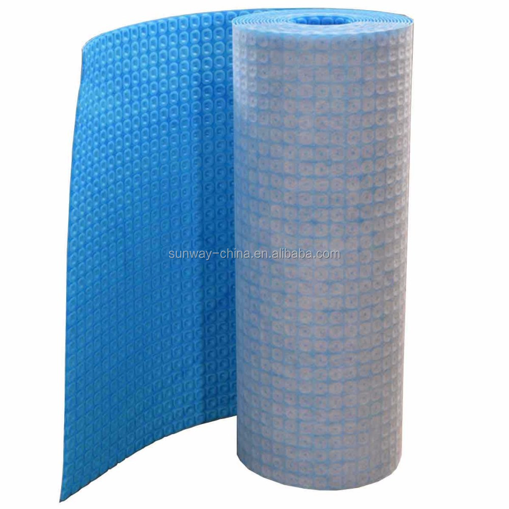 shandong uncoupling waterproof membrane for electricity heating floor