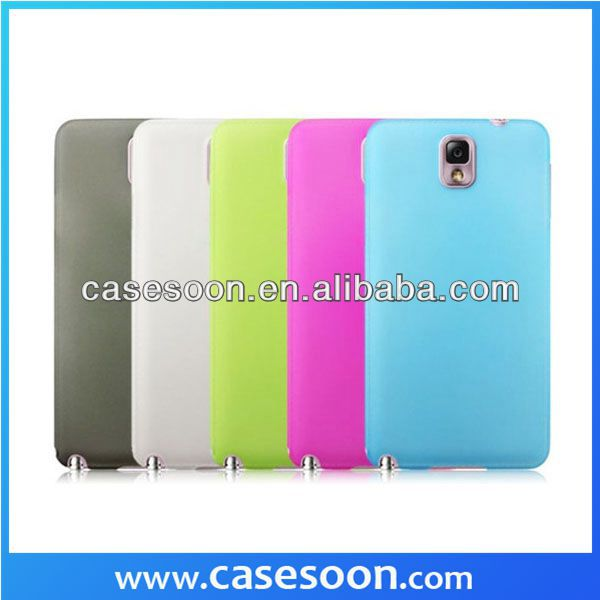 New Soft Silicone Phone Cases For Samsung Galaxy Note 3 N9000,For Note3 Cover Case