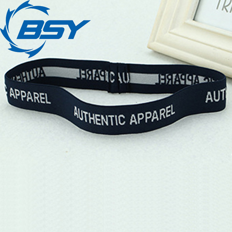 2016 Latest Style Black Unisex Polyester Tennis Basketball Sweatbands