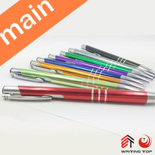 Promotional Custom Logo Multicolor Cheap Anodizing Aluminium Pens