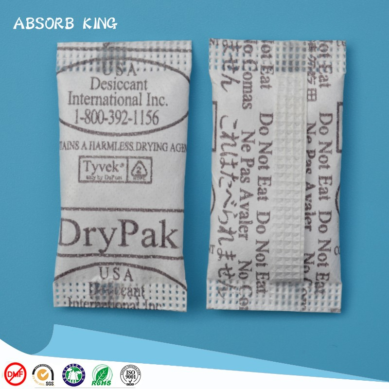 High moisture absorption rate 1g 5g 10g 20g 30g 50 silica gel desiccant