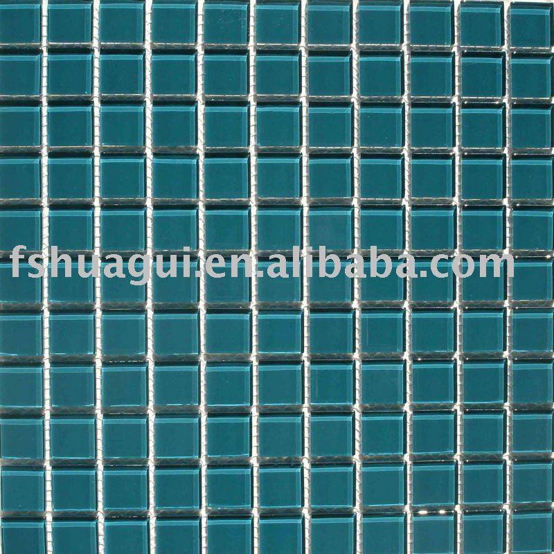 dunkelgr ne glas schwimmbad mosaik fliesen hg 4248002. Black Bedroom Furniture Sets. Home Design Ideas