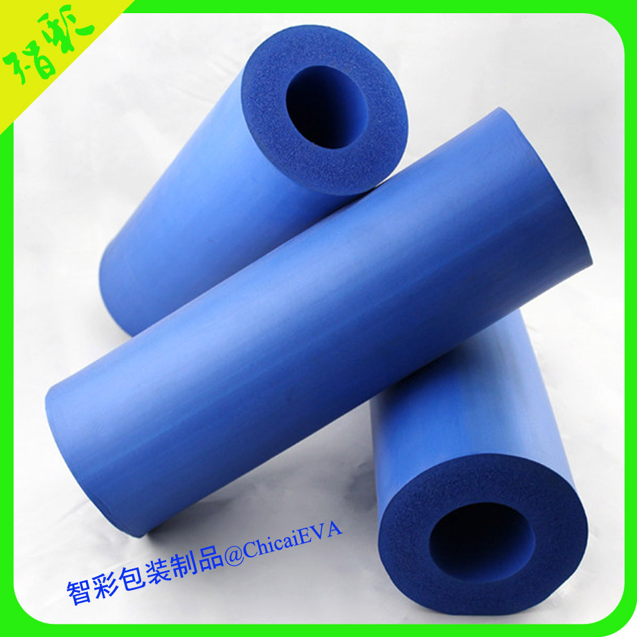 Custom protective EPE EVA foam tubes of handle grip