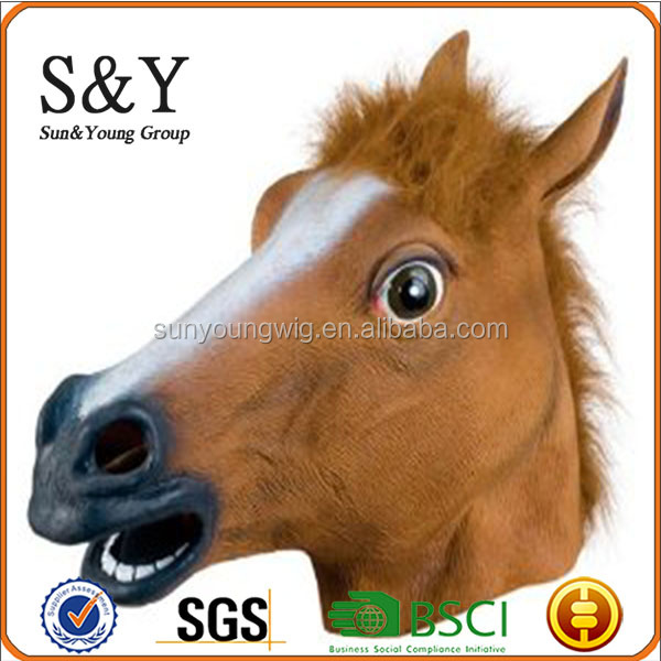 Hot sale Horse Mask Latex Mask 3D Animal Mask