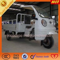 2015 New Fashion Design Three Wheel cargoTricycle with ABS cabin for sale