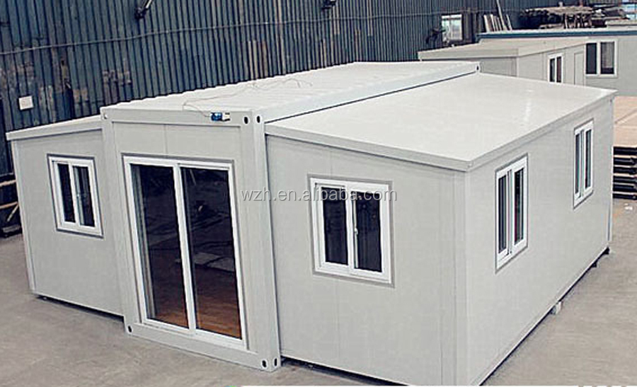 Expandable Prefabricated Container House with shipping contaniner and the cargo container