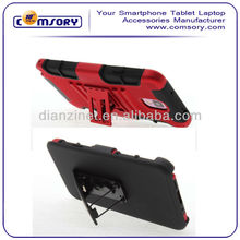 Dual Layer Holster Case with Kickstand & Locking Belt Swivel Clip for Samsung Galaxy Note 3 Note III Paypal Acceptable
