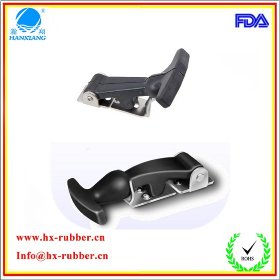 small EPDM rubber lock / hook safety/ suitcase/ tool box latch