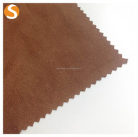 Manufacturer Provide 100% Polyester Fake Fur Suede Fabric