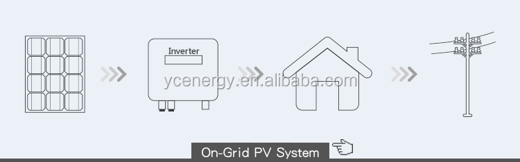 5.2kw on grid  solar power system 5.2kva  system solar energy system home application power supply