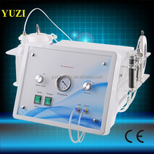 New 5D Microdermabrasion Skin Activating Device/microdermabrasion oxygen spray + Ultrasonic Skin Scrubber Machine