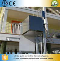 Disabled wheelchair lift/indor outdoor wheelchair lift