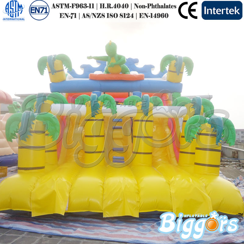 Free Sea Shipping Inflatable Giant Jungle Inflatable Slide China Bouncer Slide for Sale